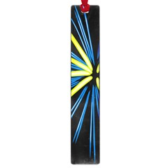 Fireworks Blue Green Black Happy New Year Large Book Marks by Mariart