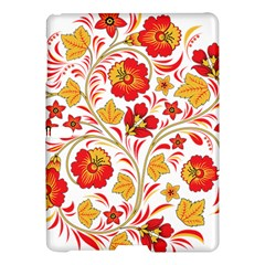 Wreaths Flower Floral Sexy Red Sunflower Star Rose Samsung Galaxy Tab S (10 5 ) Hardshell Case  by Mariart