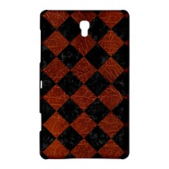 Square2 Black Marble & Reddish Brown Leather Samsung Galaxy Tab S (8 4 ) Hardshell Case  by trendistuff
