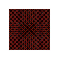 Circles3 Black Marble & Reddish Brown Wood (r) Acrylic Tangram Puzzle (4  X 4 ) by trendistuff