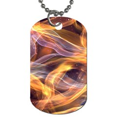 Abstract Shiny Night Lights 6 Dog Tag (two Sides) by tarastyle