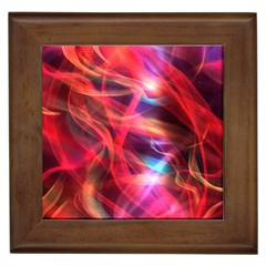 Abstract Shiny Night Lights 9 Framed Tiles by tarastyle