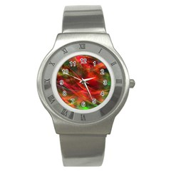Abstract Shiny Night Lights 12 Stainless Steel Watch by tarastyle