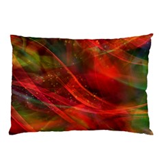 Abstract Shiny Night Lights 12 Pillow Case by tarastyle