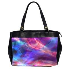 Abstract Shiny Night Lights 14 Office Handbags (2 Sides)  by tarastyle