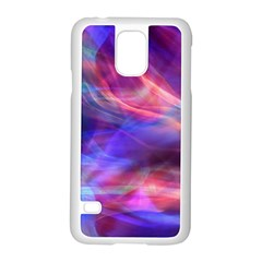 Abstract Shiny Night Lights 14 Samsung Galaxy S5 Case (white) by tarastyle