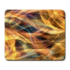 Abstract Shiny Night Lights 15 Large Mousepads by tarastyle