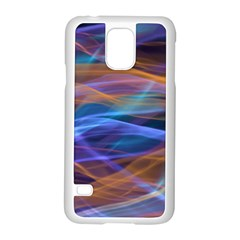 Abstract Shiny Night Lights 16 Samsung Galaxy S5 Case (white) by tarastyle