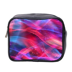 Abstract Shiny Night Lights 18 Mini Toiletries Bag 2 Side by tarastyle
