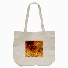 Abstract Shiny Night Lights 22 Tote Bag (cream) by tarastyle