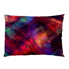 Abstract Shiny Night Lights 23 Pillow Case by tarastyle