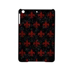 Royal1 Black Marble & Reddish Brown Wood Ipad Mini 2 Hardshell Cases by trendistuff