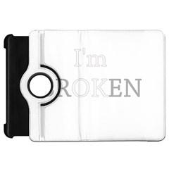 I Am Ok   Broken Kindle Fire Hd 7  by Valentinaart