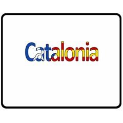 Catalonia Fleece Blanket (medium)  by Valentinaart