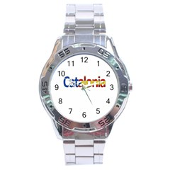 Catalonia Stainless Steel Analogue Watch by Valentinaart
