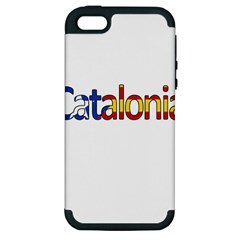 Catalonia Apple Iphone 5 Hardshell Case (pc+silicone) by Valentinaart