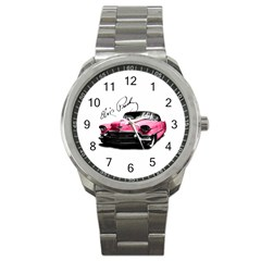 Elvis Presley s Pink Cadillac Sport Metal Watch by Valentinaart