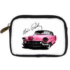Elvis Presley s Pink Cadillac Digital Camera Cases by Valentinaart