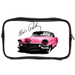 Elvis Presley s Pink Cadillac Toiletries Bags 2 Side by Valentinaart