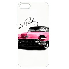 Elvis Presley s Pink Cadillac Apple Iphone 5 Hardshell Case With Stand by Valentinaart