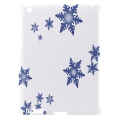 Star Snow Blue Rain Cool Apple Ipad 3/4 Hardshell Case (compatible With Smart Cover) by AnjaniArt