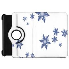 Star Snow Blue Rain Cool Kindle Fire Hd 7  by AnjaniArt