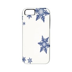 Star Snow Blue Rain Cool Apple Iphone 5 Classic Hardshell Case (pc+silicone) by AnjaniArt