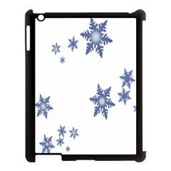 Star Snow Blue Rain Cool Apple Ipad 3/4 Case (black) by AnjaniArt