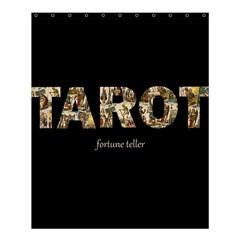 Tarot Fortune Teller Shower Curtain 60  X 72  (medium)  by Valentinaart