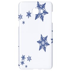 Star Snow Blue Rain Cool Samsung C9 Pro Hardshell Case  by AnjaniArt