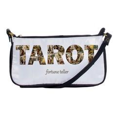 Tarot Fortune Teller Shoulder Clutch Bags by Valentinaart