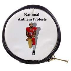 National Anthem Protest Mini Makeup Bags by Valentinaart