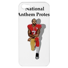 National Anthem Protest Apple Iphone 5 Hardshell Case by Valentinaart