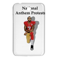 National Anthem Protest Samsung Galaxy Tab 3 (7 ) P3200 Hardshell Case  by Valentinaart