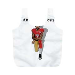 National Anthem Protest Full Print Recycle Bags (m)  by Valentinaart