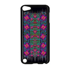 Flowers From Paradise Colors And Star Rain Apple Ipod Touch 5 Case (black) by pepitasart