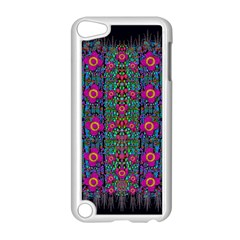 Flowers From Paradise Colors And Star Rain Apple Ipod Touch 5 Case (white) by pepitasart