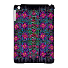 Flowers From Paradise Colors And Star Rain Apple Ipad Mini Hardshell Case (compatible With Smart Cover) by pepitasart