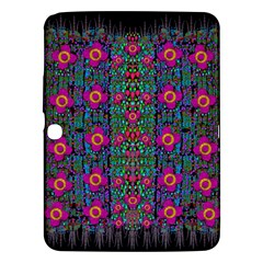Flowers From Paradise Colors And Star Rain Samsung Galaxy Tab 3 (10 1 ) P5200 Hardshell Case  by pepitasart