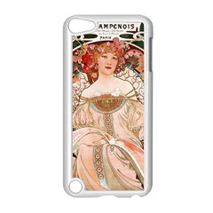 Alfons Mucha   F  Champenois Imprimeur ¨|diteur Apple Ipod Touch 5 Case (white) by 8fugoso