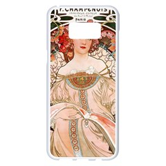 Alfons Mucha   F  Champenois Imprimeur ¨|diteur Samsung Galaxy S8 Plus White Seamless Case by 8fugoso