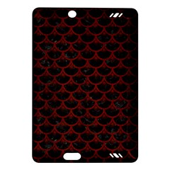 Scales3 Black Marble & Reddish Brown Wood (r) Amazon Kindle Fire Hd (2013) Hardshell Case by trendistuff