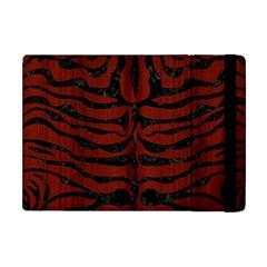 Skin2 Black Marble & Reddish Brown Wood Apple Ipad Mini Flip Case by trendistuff