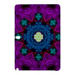 Sunshine Mandala And Fantasy Snow Floral Samsung Galaxy Tab Pro 12 2 Hardshell Case by pepitasart