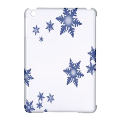 Star Snow Blue Rain Cool Apple Ipad Mini Hardshell Case (compatible With Smart Cover) by AnjaniArt