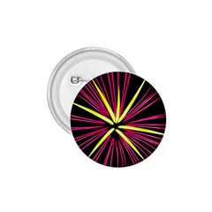 Fireworks Pink Red Yellow Black Sky Happy New Year 1 75  Buttons by AnjaniArt