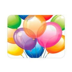 Birthday Happy New Year Balloons Rainbow Double Sided Flano Blanket (mini)  by AnjaniArt
