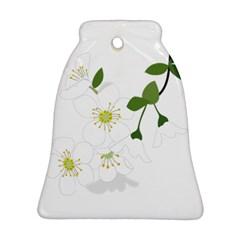 Flower Floral Sakura Ornament (bell) by AnjaniArt