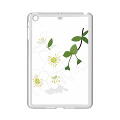 Flower Floral Sakura Ipad Mini 2 Enamel Coated Cases by AnjaniArt