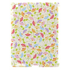 Flower Rainbow Sexy Leaf Plaid Vertical Horizon Apple Ipad 3/4 Hardshell Case (compatible With Smart Cover) by AnjaniArt